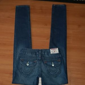 NWOT True religion Julie skinny Jean's size 25 L34
